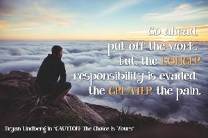 Evade Responsibility increase pain